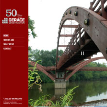 Gerace Construction Website