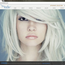 Marcelo's Salon Website